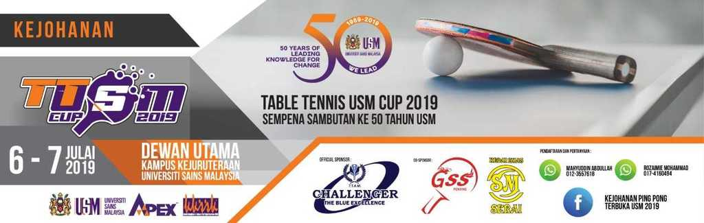 Table Tennis USM Open 2019